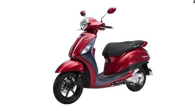 Yamaha Grande màu đỏ xám