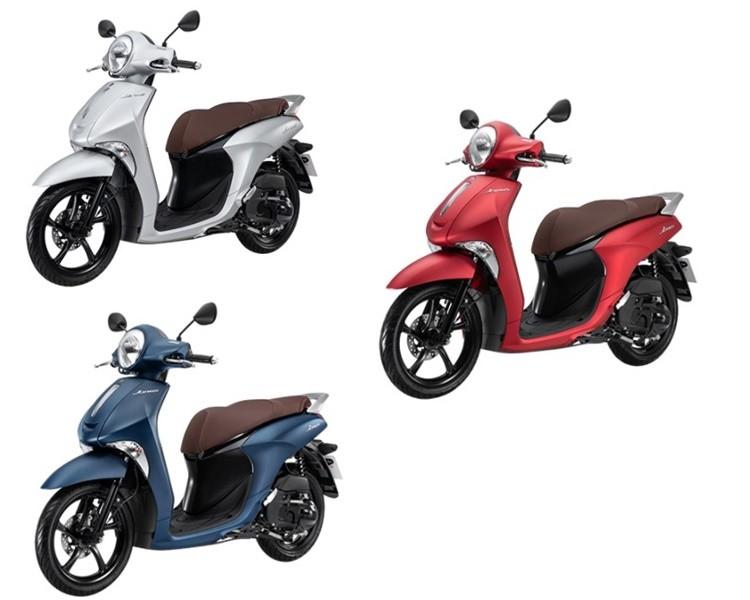Màu sắc tùy chọn của Yamaha Janus phiên bản đặc biệt.