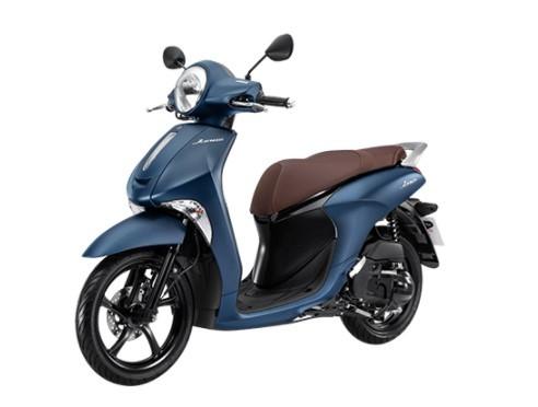 Yamaha Grande màu xanh nhám