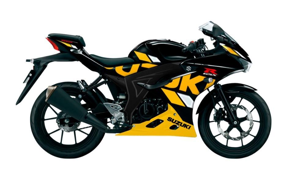 Suzuki GSX-R150 màu đen vàng