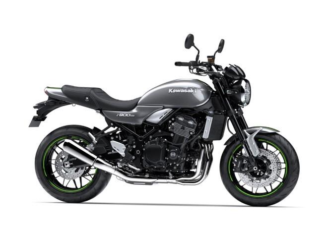 Xe Kawasaki Z900RS màu xám
