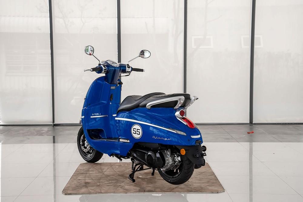 Peugeot Django xanh đậm