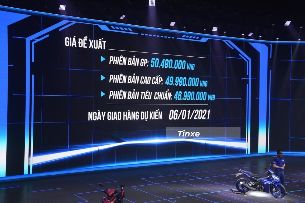 Giá đề xuất của Yamaha Exciter 155 VVA 2021