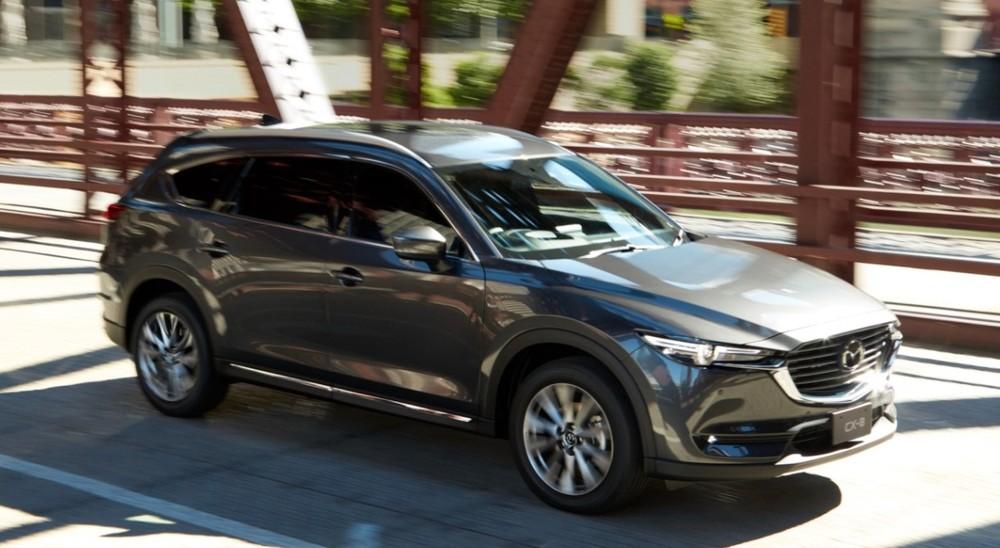 Giá xe Mazda CX-8 2020 có giá khởi điểm ở mức 999 triệuđồng