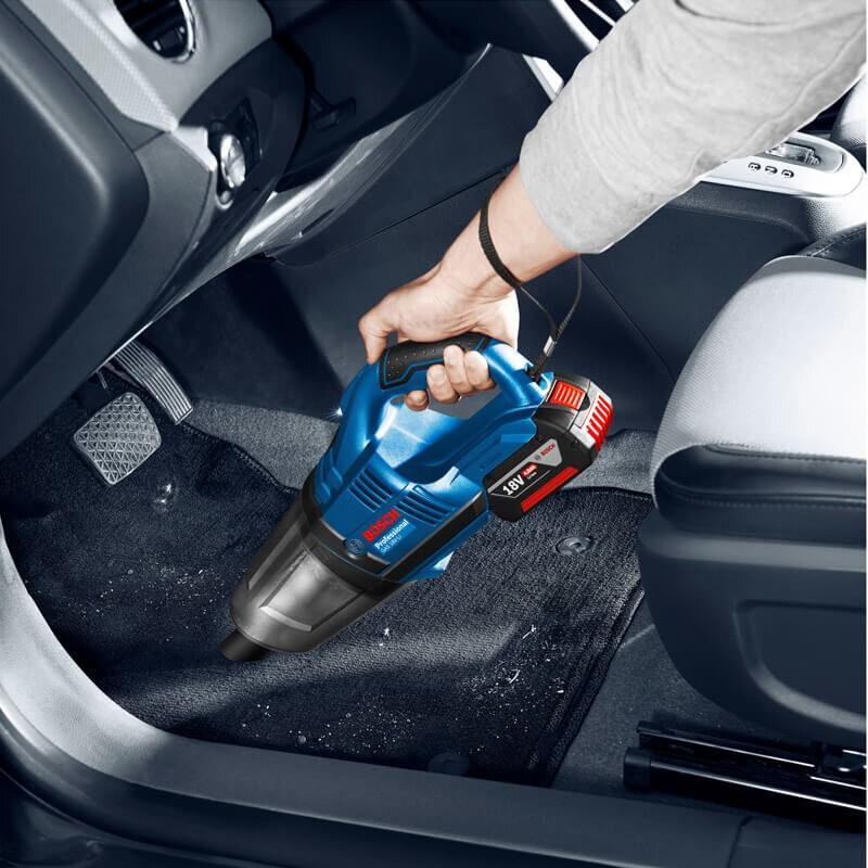 Máy hút bụi ô tô Bosch là thương hiệu uy tín của Đức.