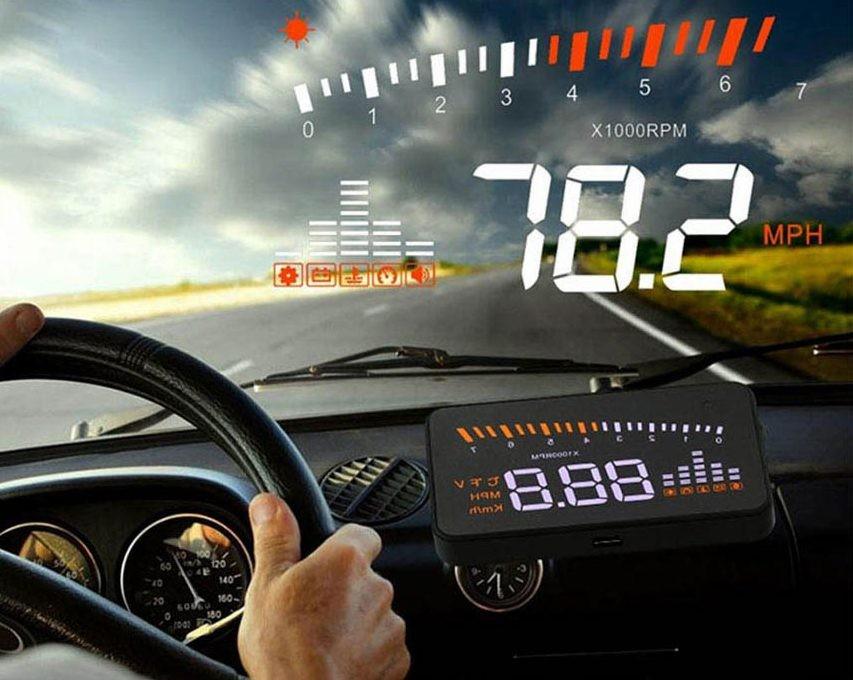 Công nghệ hiển thị kính lái ô tô HUD nâng cao tính an toàn cho người điều khiển.
