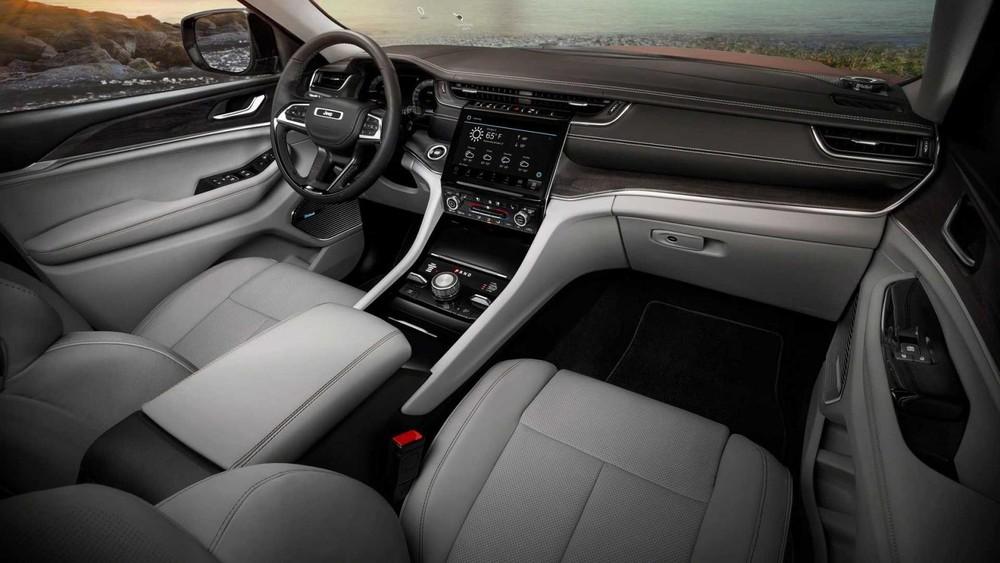 Nội thất bên trong Jeep Grand Cherokee L 2021