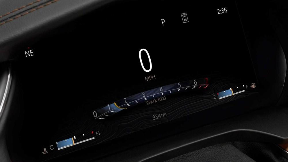 Bảng đồng hồ kỹ thuật số là trang bị tiêu chuẩn của Jeep Grand Cherokee L 2021