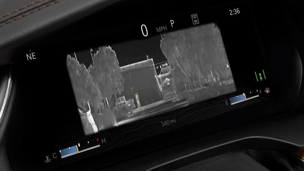 Jeep Grand Cherokee L 2021 bản cao nhất có hệ thống quan sát ban đêm