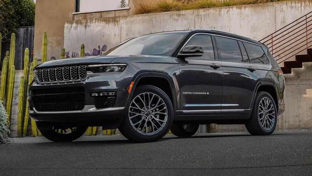 Jeep Grand Cherokee L 2021 có 2 loại động cơ như trước