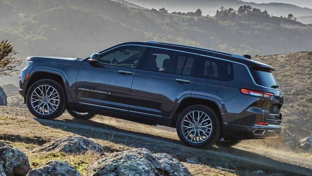 Jeep Grand Cherokee L 2021 lần đầu tiên có vành 21 inch
