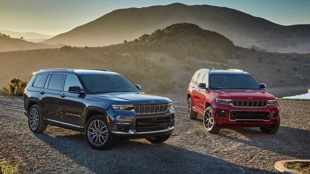 Jeep Grand Cherokee L 2021 trình làng tại thị trường Mỹ