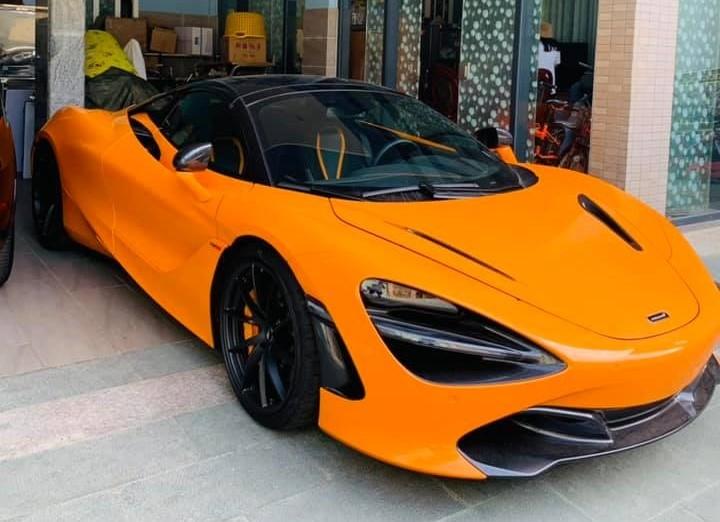 Siêu xe mui trần McLaren 720S Spider thứ 6 về nước làm dâu ở Vũng Tàu
