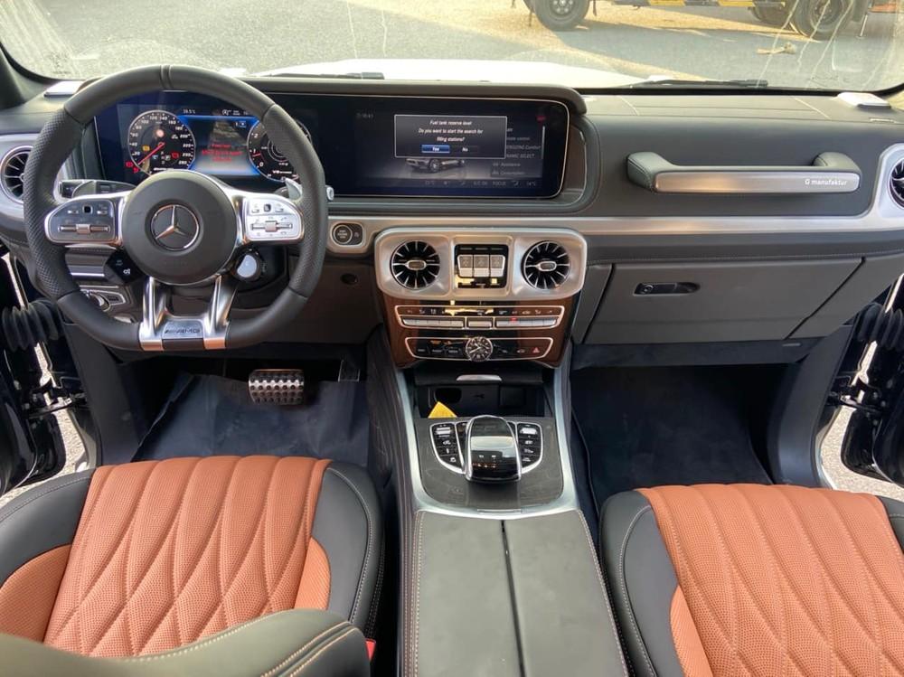 Nội thất xe Mercedes-AMG G63 Gewinner MBS