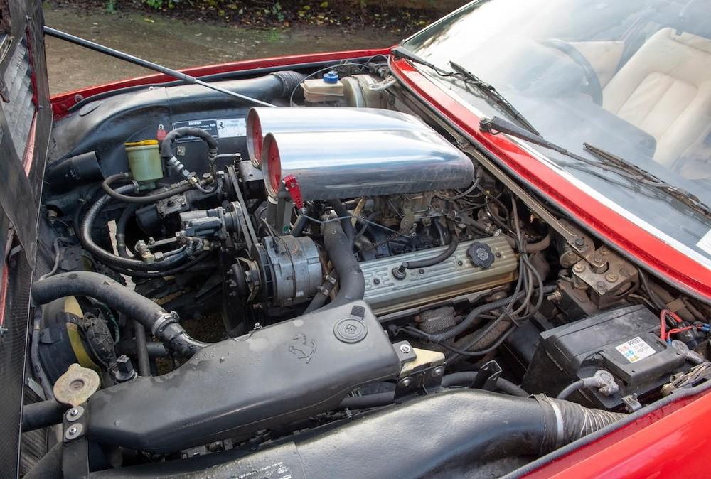 Động cơ xe đã được thay đổi
