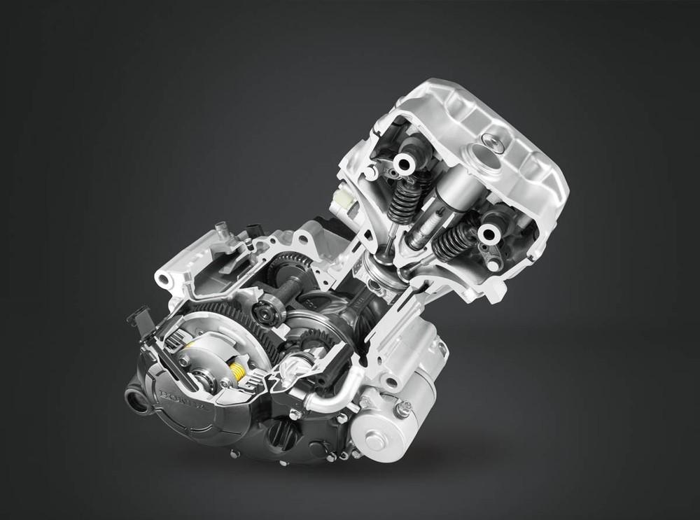 Khối động cơ mang nhiều thay đổi trên Honda CBR150R 2021