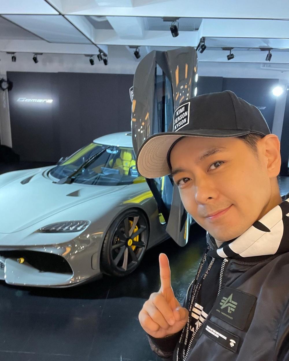 Lâm Chí Dĩnh khoe ảnh chụp cùng siêu xe 4 chỗ ngồi Koenigsegg Gemera