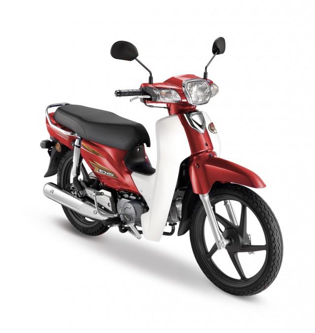 Chiếc xe có thiết kế cách điệu hơn so với Honda Dream tại Việt Nam