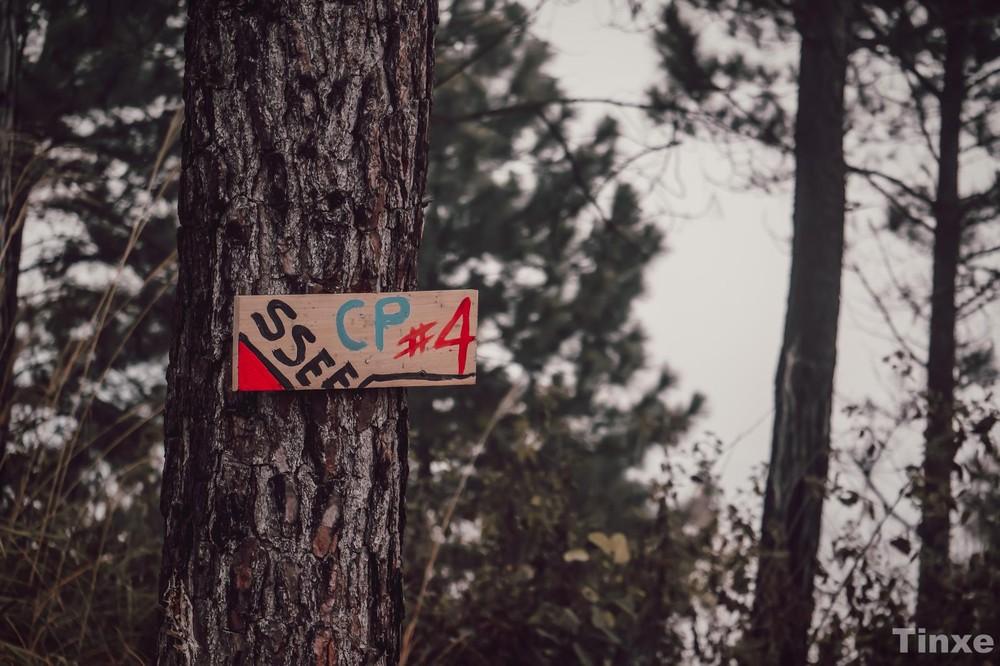 Để kiểm soát đường đi trong khu vực tự nhiên của các vận động viên, track thi đấu được chia thành các check point có trọng tài riêng