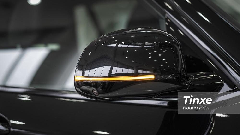 Bên cạnh đó, BMW X3 xDrive30i M Sport đã được bổ sung thêm công nghệ camera 360 độ quanh xe.