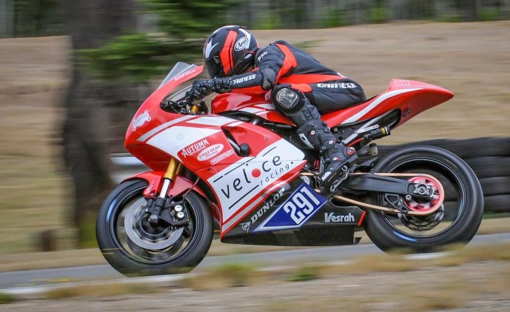 Xe đua tại giải MotoAmerika sử dụng khung sườn động cơ của naked bike Yamaha MT-07