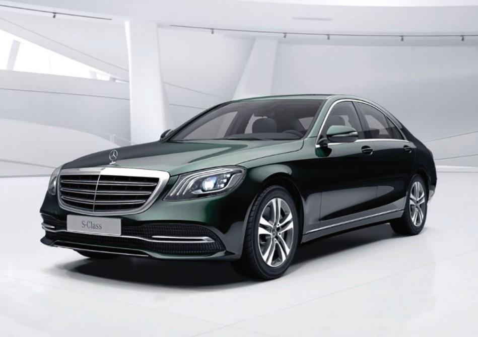 Giá xe Mercedes S450 được niêm yết ở mức 4,299 tỷ đồng