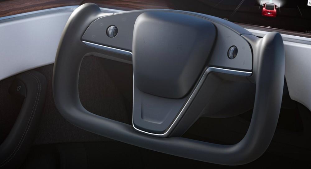 Vô lăng mới của Tesla Model S 2021