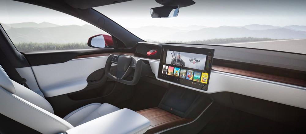 Nội thất bên trong Tesla Model S 2021