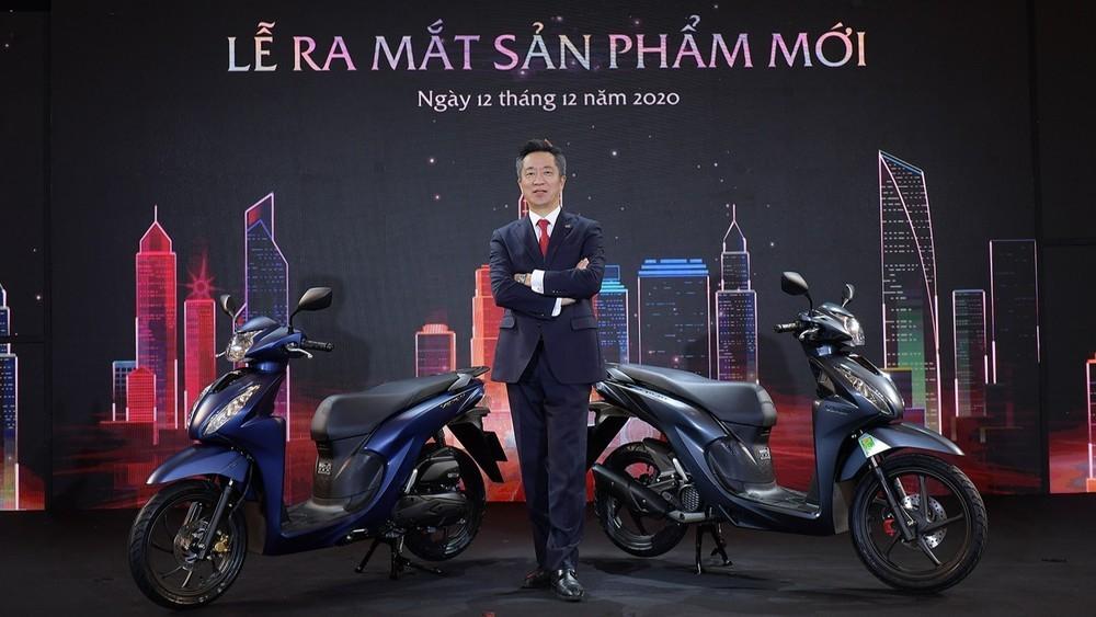 Giá xe Honda Vision 2021 ở mức 29,9 đến 34,49 triệu đồng