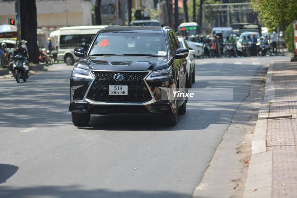 Lexus LX570 Super Sport không được nâng cấp động cơ