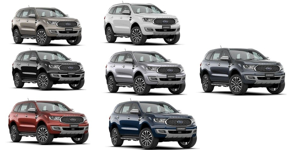 Giá xe Ford Everest 2021