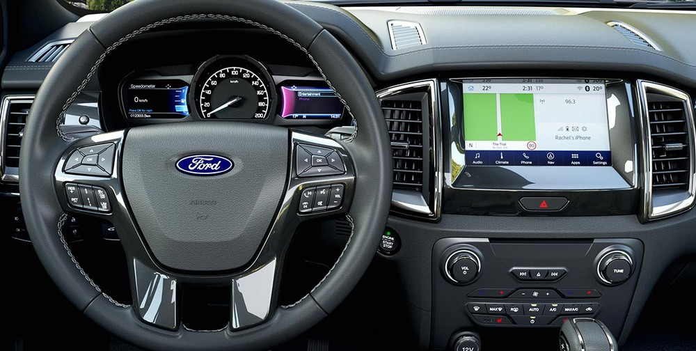 Nội thất của Ford Everest