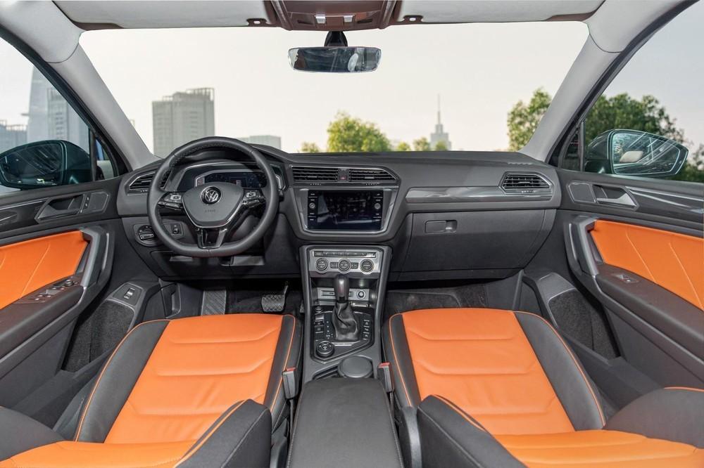 Nội thất của Volkswagen Tiguan Luxury S 2021
