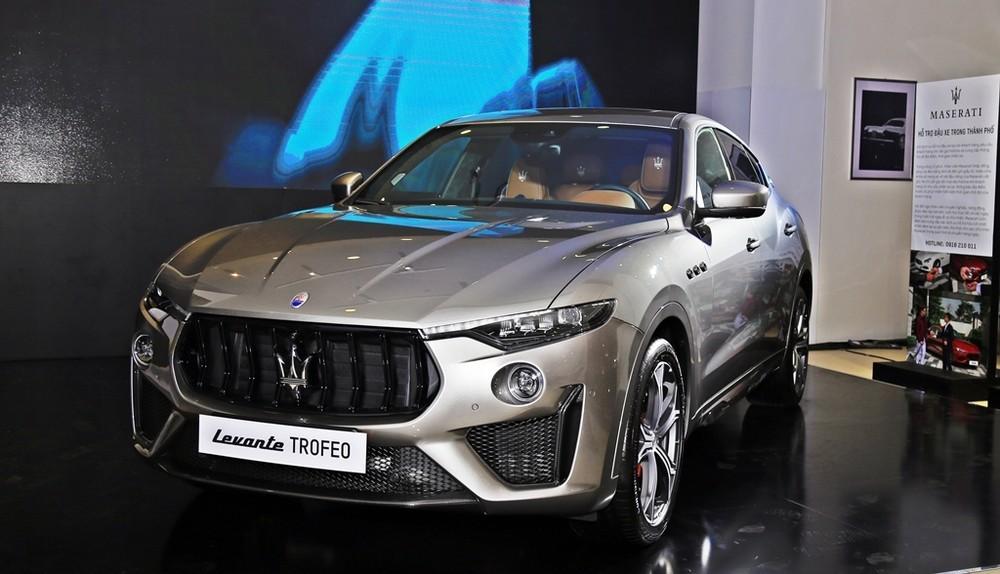 Maserati Levante Trofeo ra mắt Việt Nam