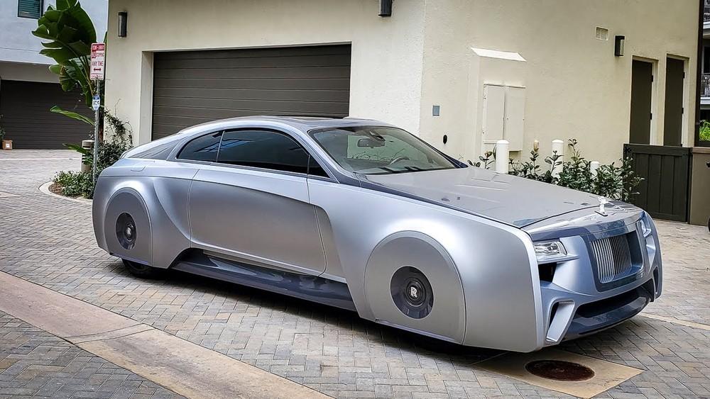 Chiếc xe này thực chất là Rolls-Royce Wraith độ