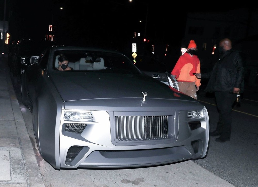 Chiếc Rolls-Royce của Justin Bieber có thiết kế giống 103EX