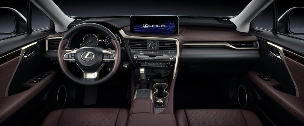 Nội thất xe Lexus RX