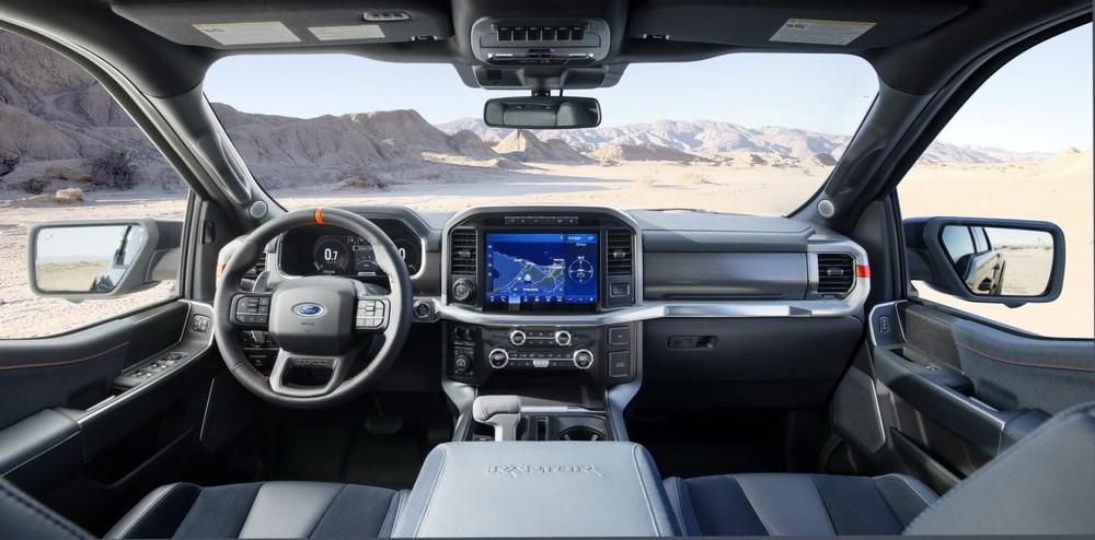 Nội thất bên trong Ford F-150 Raptor 2021