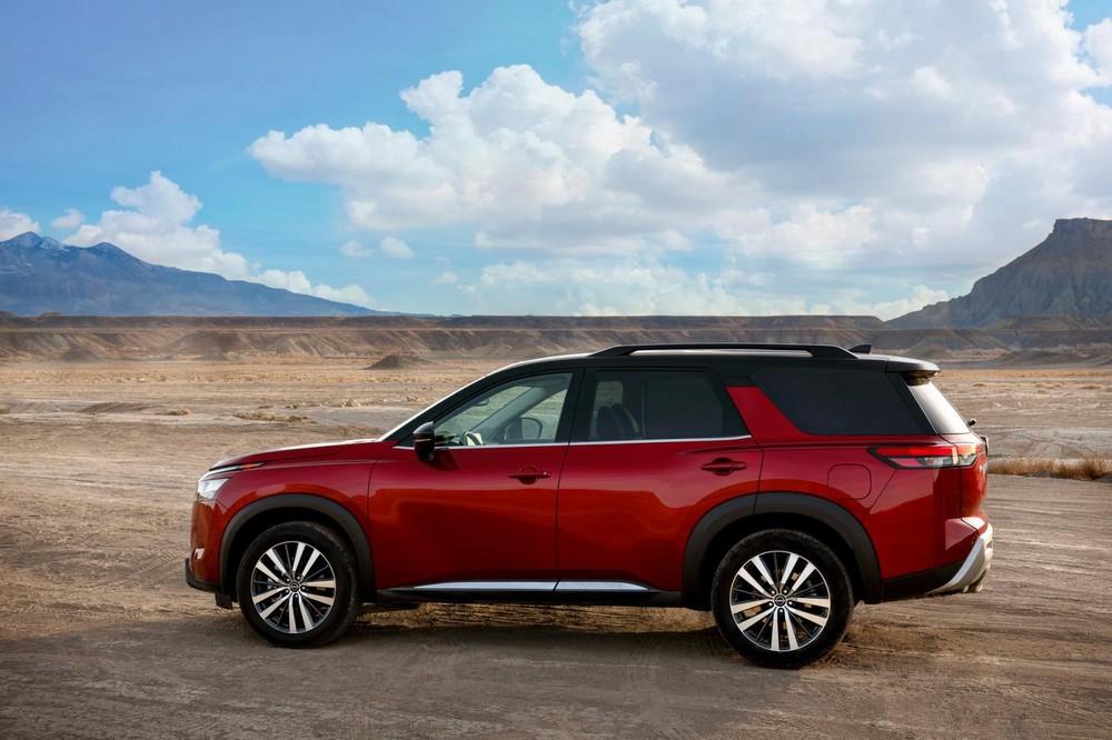 Nissan Pathfinder 2022 ngắn hơn và rộng hơn trước