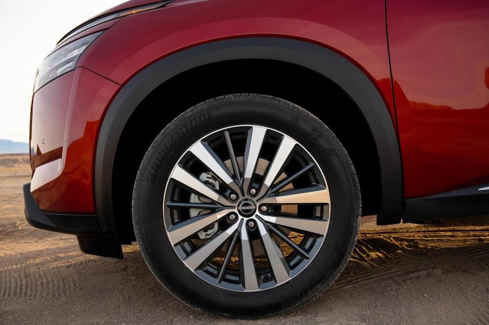 Bộ vành hợp kim 20 inch của Nissan Pathfinder 2022