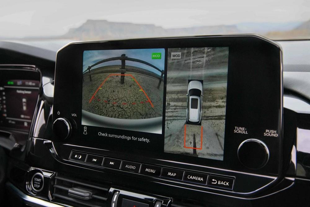 Camera 360 độ của Nissan Pathfinder 2022