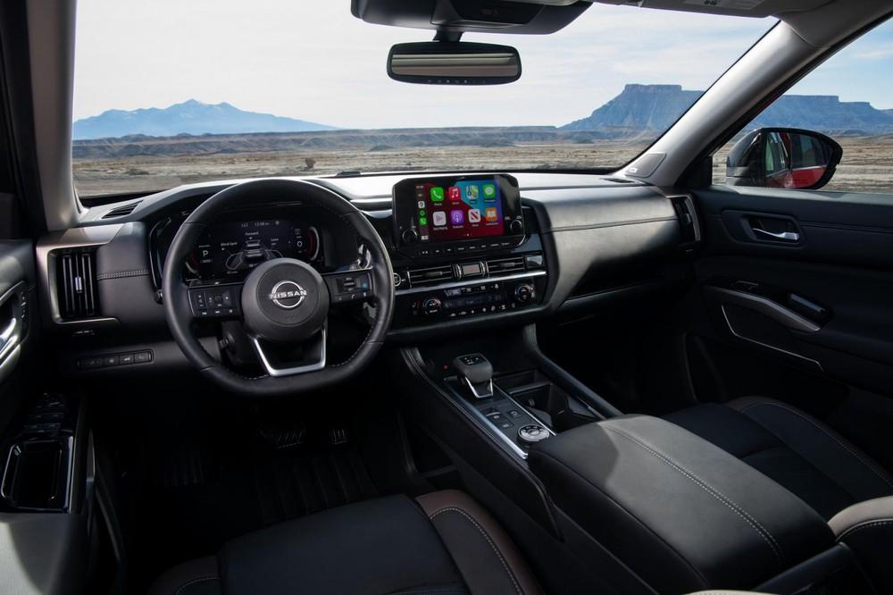 Nội thất bên trong Nissan Pathfinder 2022