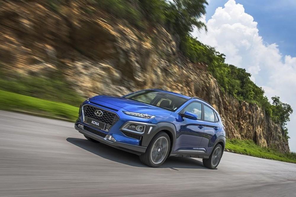 Hyundai Kona có giá khởi điểm từ 636 triệu đồng.