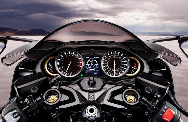 Dàn điều khiển tuyệt đẹp trên Suzuki Hayabusa 2021