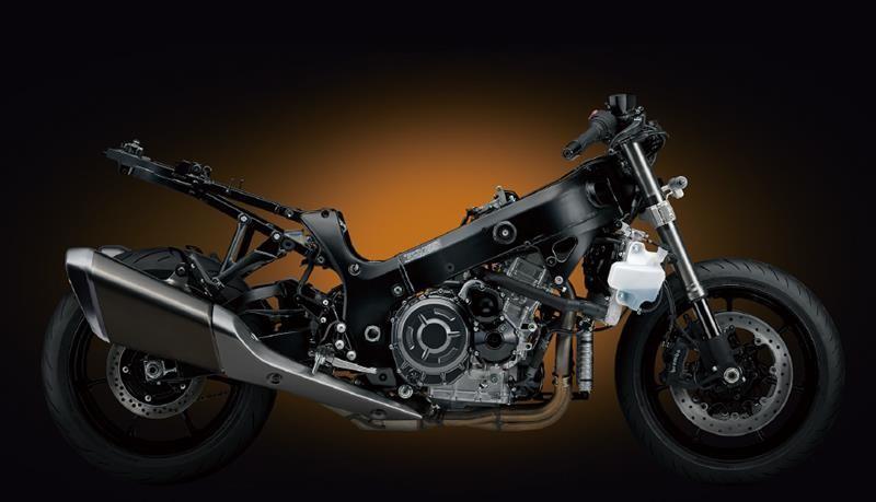 Thiết kế bên trong của Suzuki Hayabusa 2021