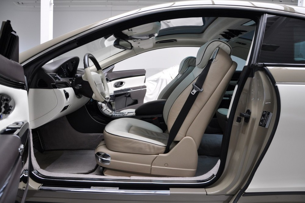 Ghế massage của chiếc Maybach 57S Coupe