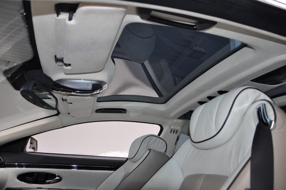 Nội thất tông xuyệt tông của chiếc Maybach 57S Coupe