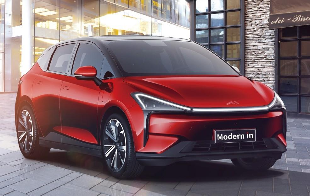 Modern in là một mẫu SUV điện mới tinh, chuẩn bị ra mắt thị trường Trung Quốc