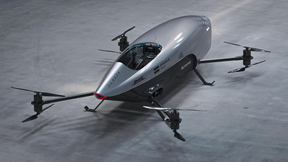 Airspeeder Mk3 được coi là xe bay đua điện đầu tiên trên thế giới