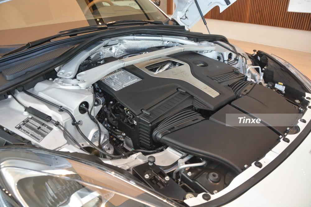 Động cơ trên Aston Martin DBX